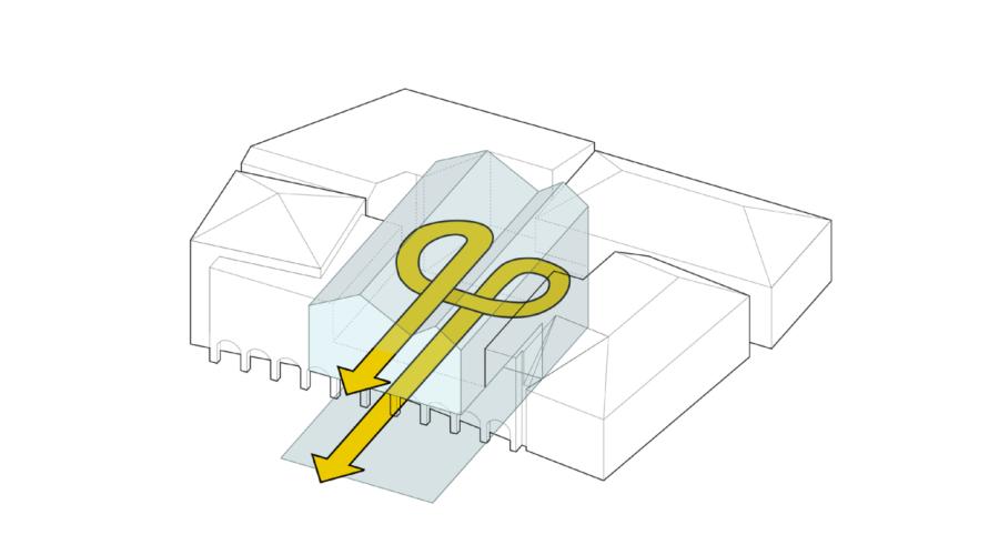 Illustratie nieuwbouw, connector