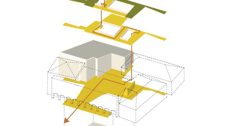 Illustratie nieuwbouw